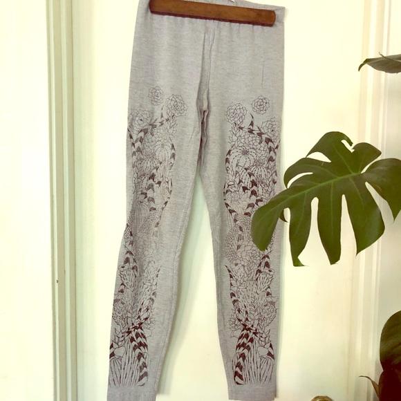 American Apparel Pants - Succulent Printed American Apparel Leggings